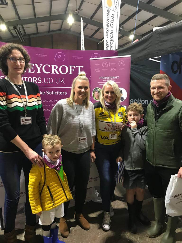 Carole Nash Show 2019 Thorneycroft with show visitors