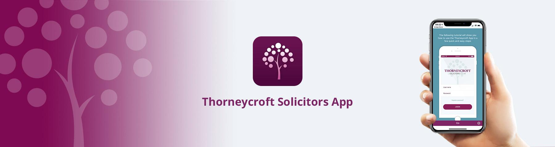 Thorneycroft Solicitors App