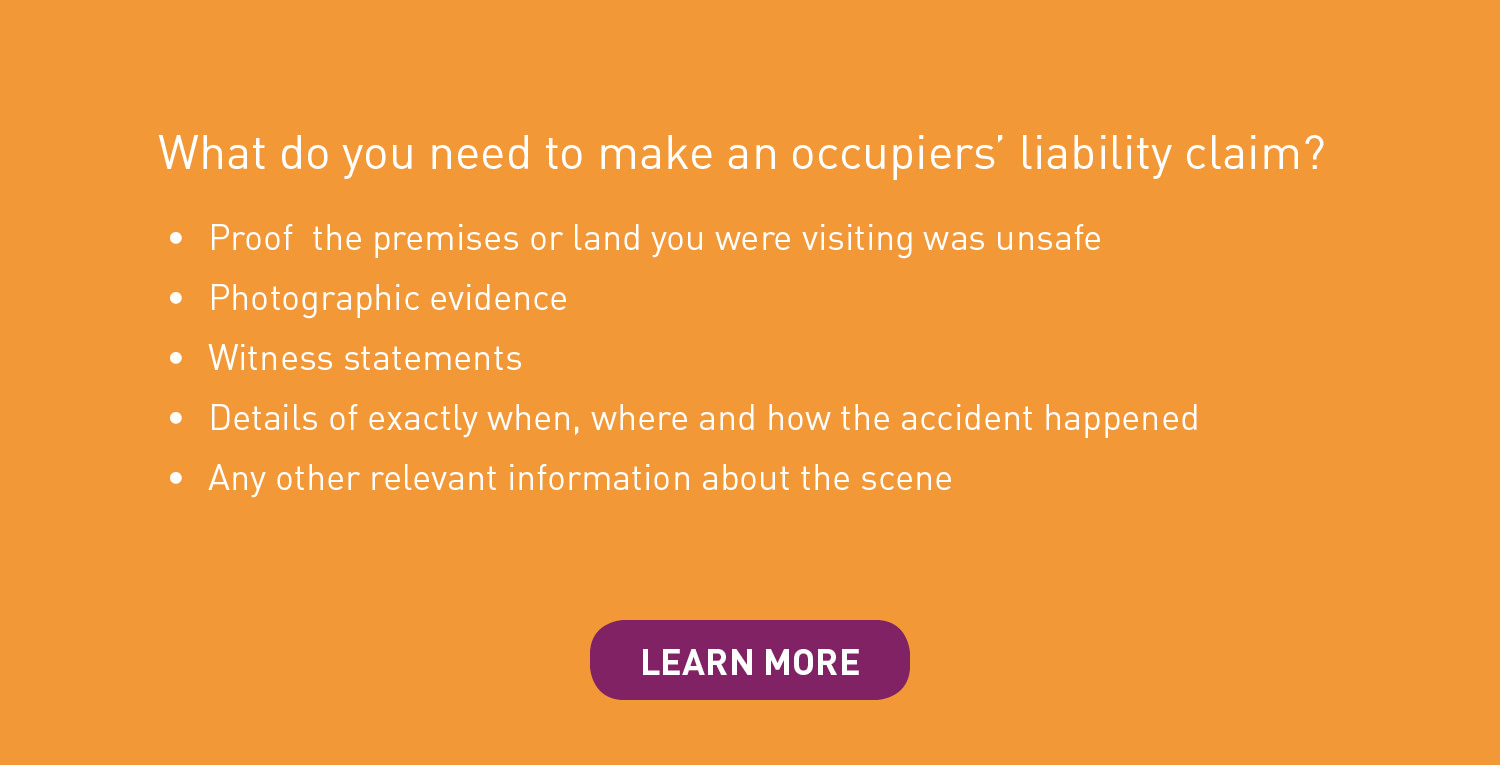 workplace injury and occupiers' liability infographic question 7
