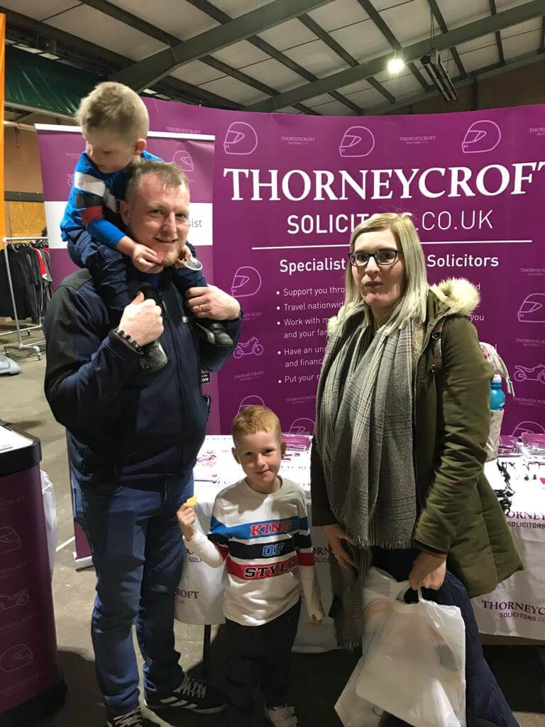 Carole Nash Show 2019 Thorneycroft visitors to stand