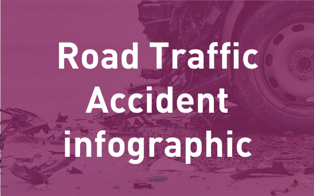road traffic infographic