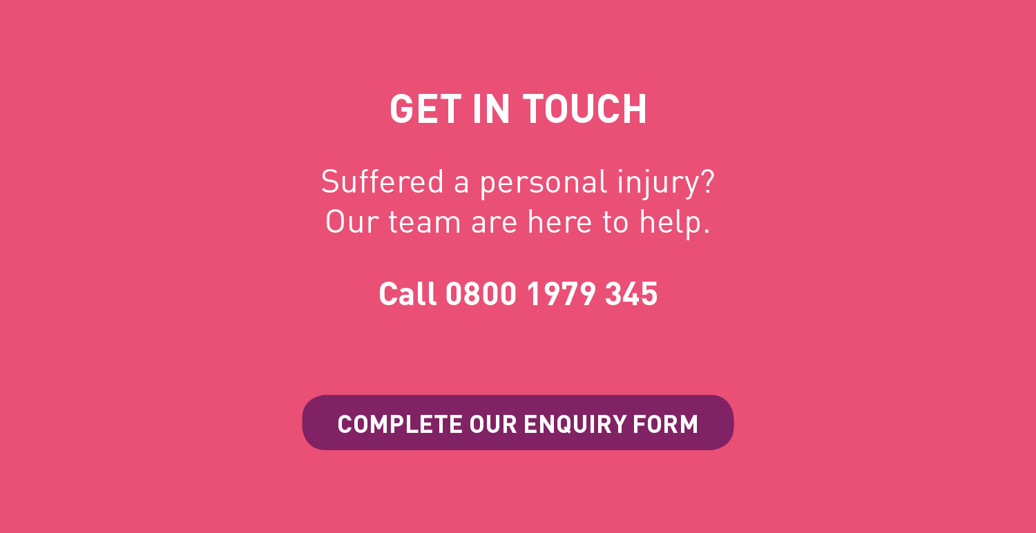 workplace injury and occupiers' liability infographic question enquiry form button