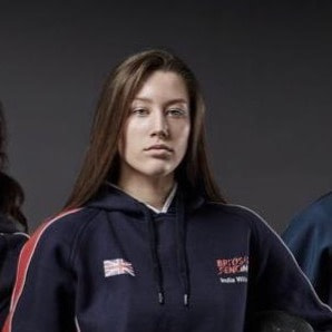 India Wilson - team GB fencing athlete profile image