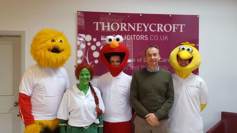 Thorneycroft Macclesfield pancake run
