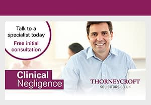 Talk to a clinical negligence specialist today