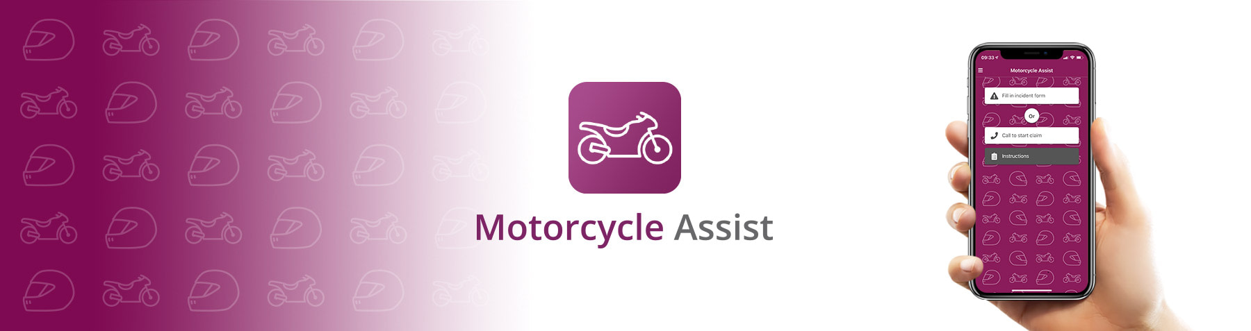 Motorcycle Assist app